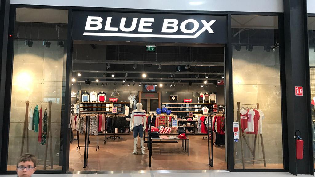 JOUÉ-LÈS-TOURS - BLUE BOX